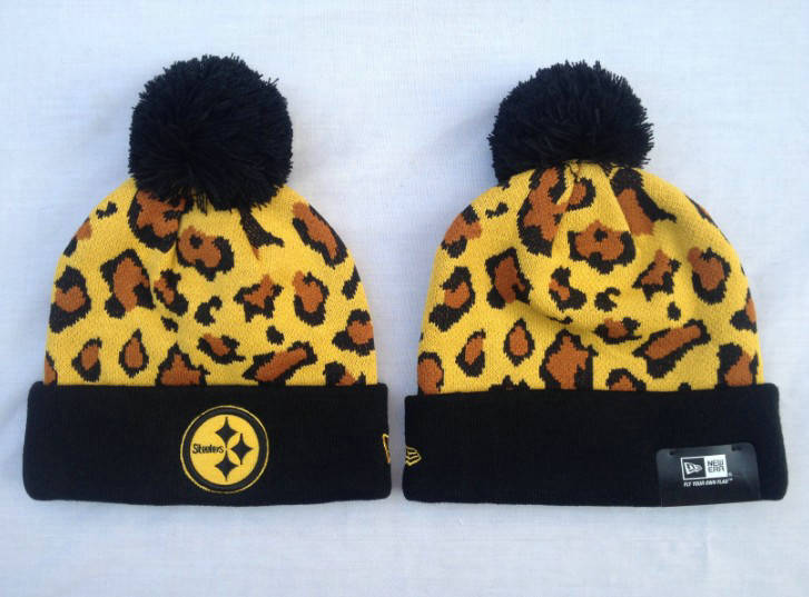 NFL Pittsburgh Steelers Yellow Beanie SF