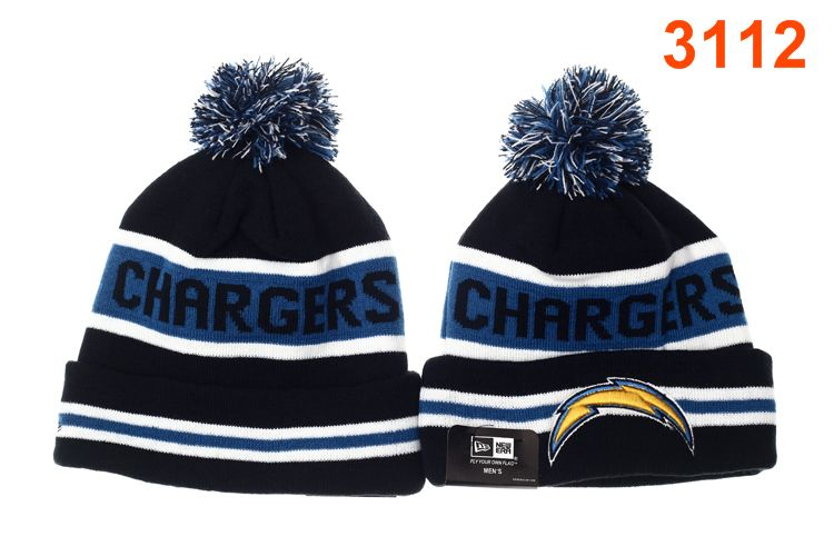 NFL San Diego Chargers Navy Beanie P-T