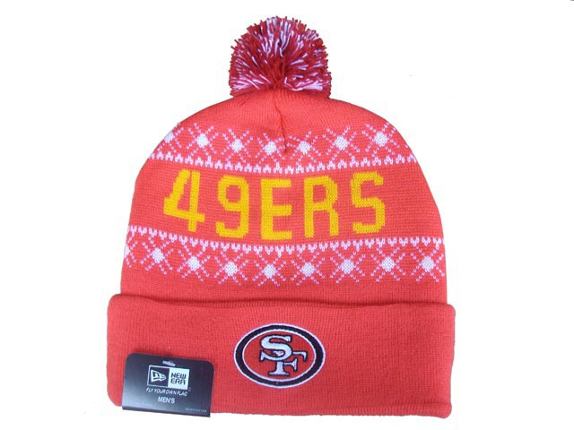 NFL San Francisco 49ers Beanie Red DF