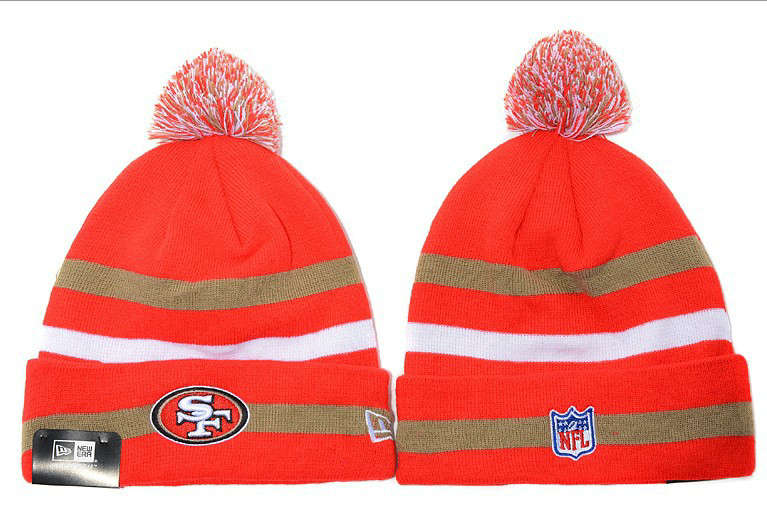 NFL San Francisco 49ers Beanie Red JT