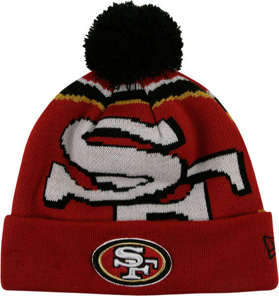 NFL San Francisco 49ers Beanie Red SD