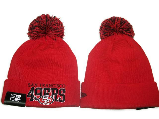 NFL San Francisco 49ers Red Beanie JT