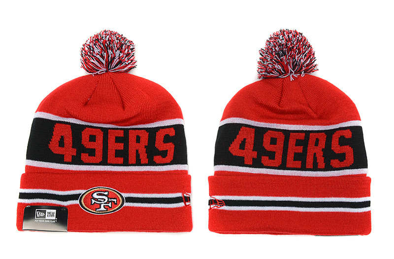 NFL San Francisco 49ers Red Beanie SD