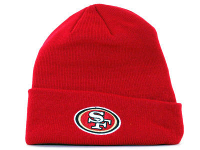 NFL San Francisco 49ers Red Beanie SF