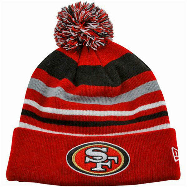 NFL San Francisco 49ers Stripe Beanie SD
