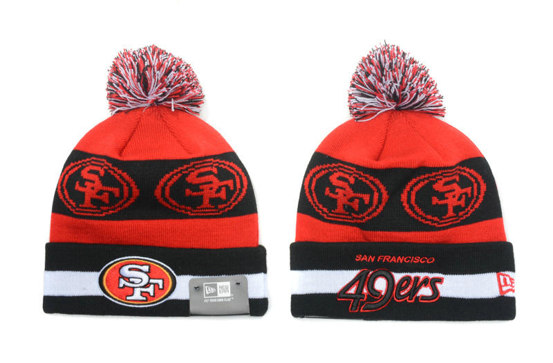 San Francisco 49ers Red Beanie SD
