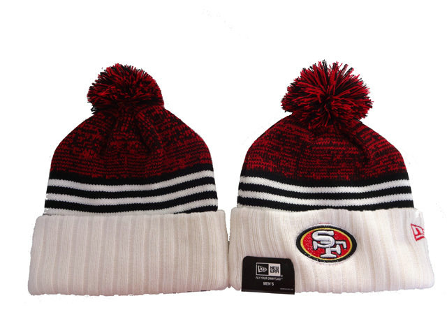 San Francisco 49ers Stripe Beanie DF