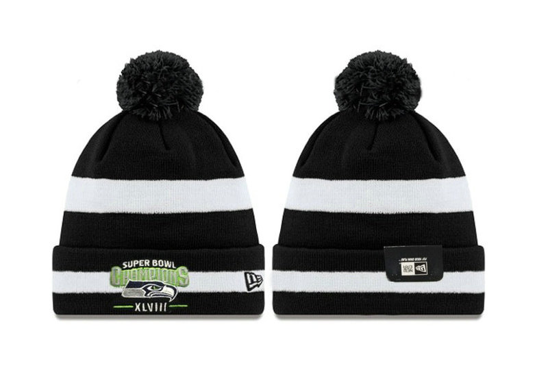 Seattle Seahawks XLVIII Beanie DF 1