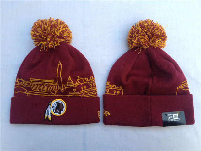 NFL Washington Redskins Red Beanie SF