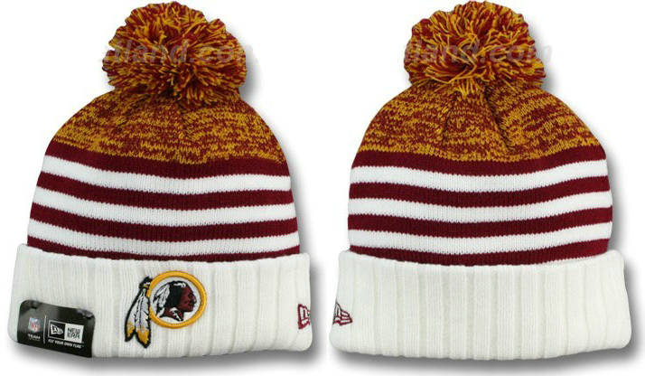 NFL Washington Redskins Stripe Beanie DF