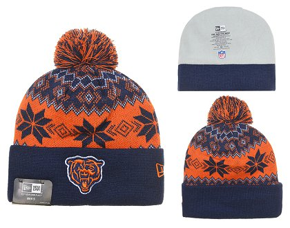 Chicago Bears Beanies DF 150306 045