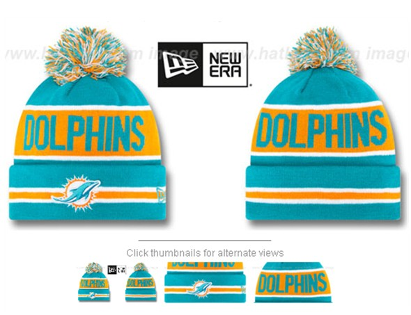 Miami Dolphins Beanies 60D 150229 01