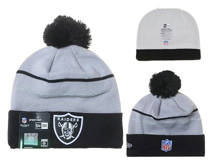 Oakland Raiders Beanies DF 150306 5