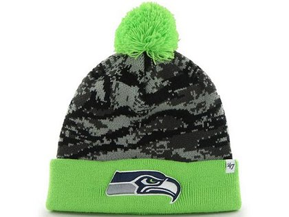 Seattle Seahawks Beanie XDF 150225 060