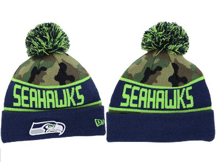 Seattle Seahawks Beanie XDF 150225 061