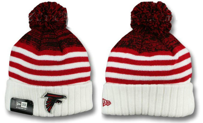 NFL Atlanta Falcons Stripe Beanie DF