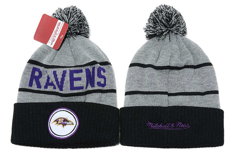 NFL Baltimore Ravens Beanie Grey SD