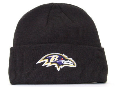 NFL Baltimore Ravens Black Beanie SF