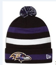 NFL Baltimore Ravens Stripe Beanie SD
