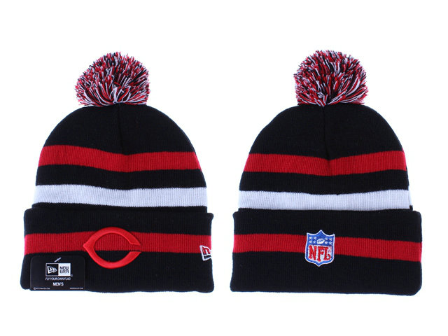 NFL Chicago Bears Stripe Beanie LX
