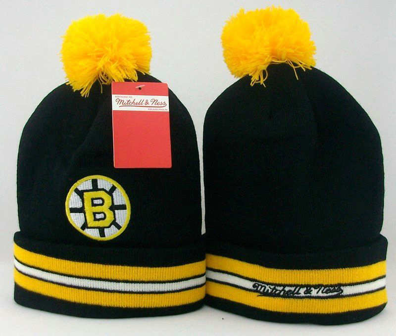 NHL Boston Bruins Black Beanie JT