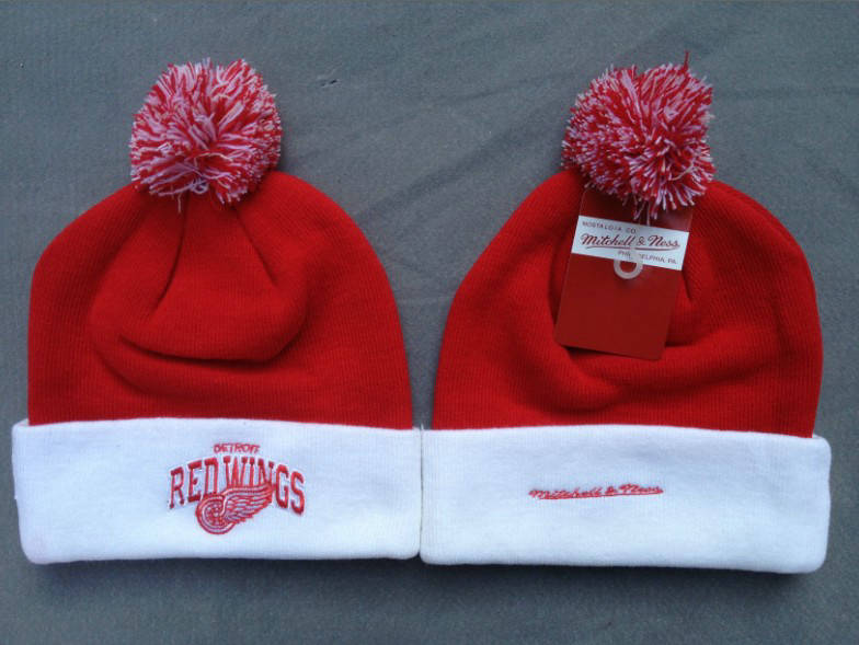 NHL Detroit Red Wings Red Beanie 1 SF