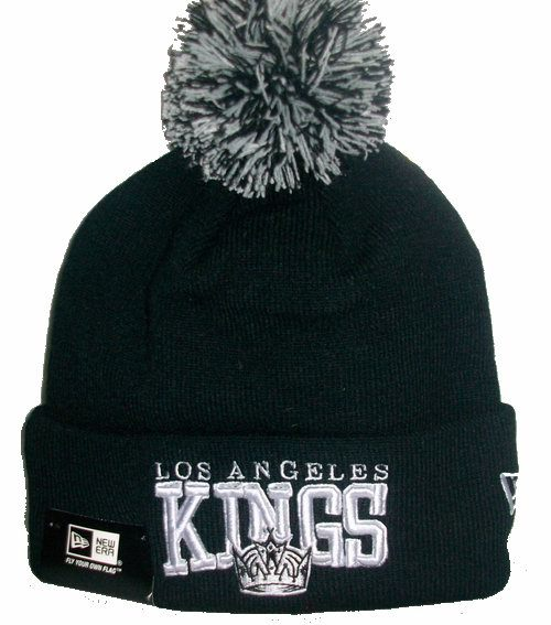 NHL Los Angeles Kings Beanie Black 1 JT