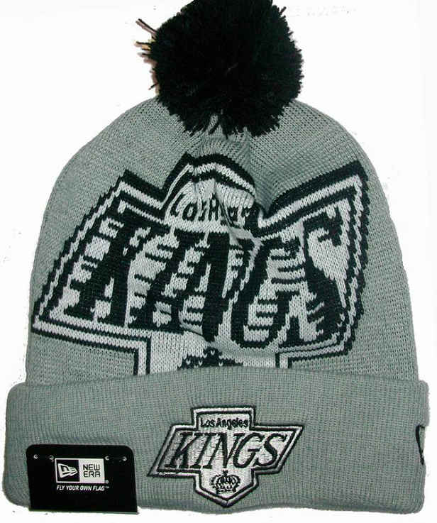 NHL Los Angeles Kings Grey Beanie JT