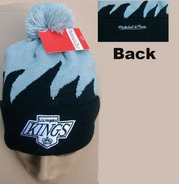 NHL Los Angeles Kings Mitchell&Ness Shark tooth Beanie JT