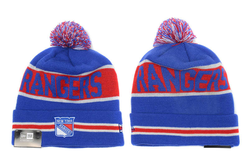 NHL New York Rangers Blue Beanie SD