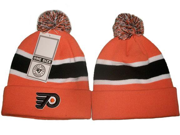 NHL Philadelphia Flyers Orange Beanie JT