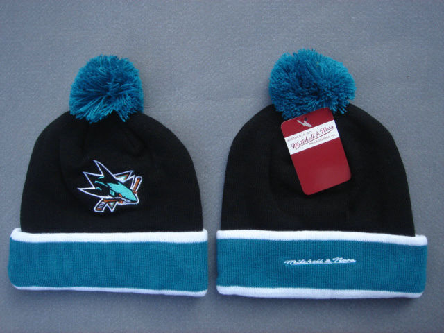 NHL San Jose Sharks Black Beanie SF