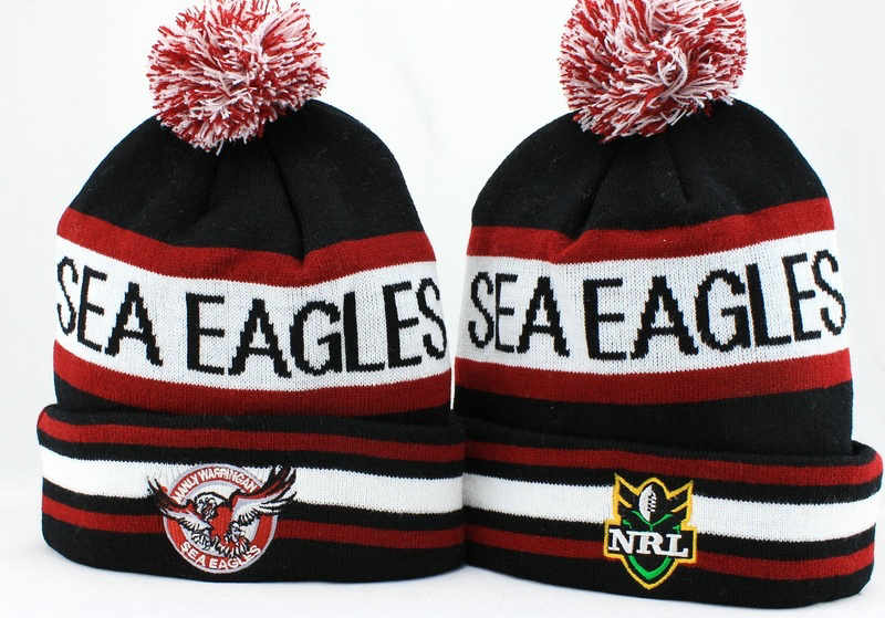 NRL Manly Sea Eagles Beanie JT