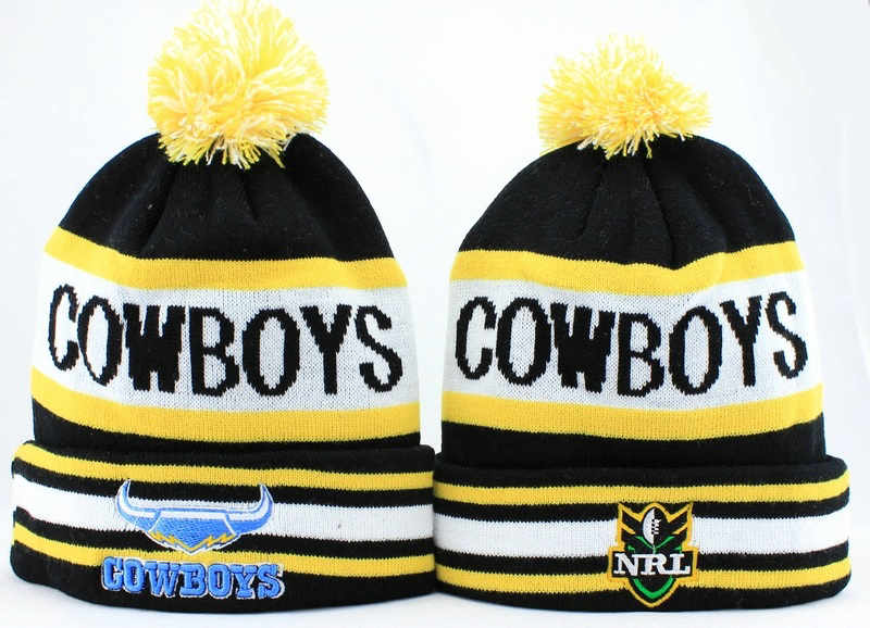 NRL North Queensland Cowboys Beanie JT