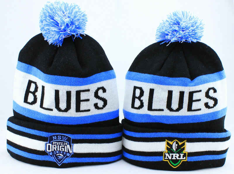 NRL NSW Blues Beanie JT
