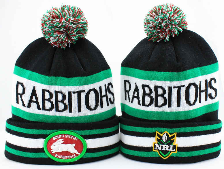 NRL South Sydney Rabbitohs Beanie JT