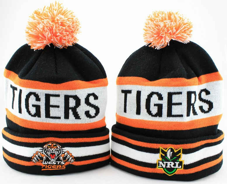 NRL Wests Tigers Beanie JT