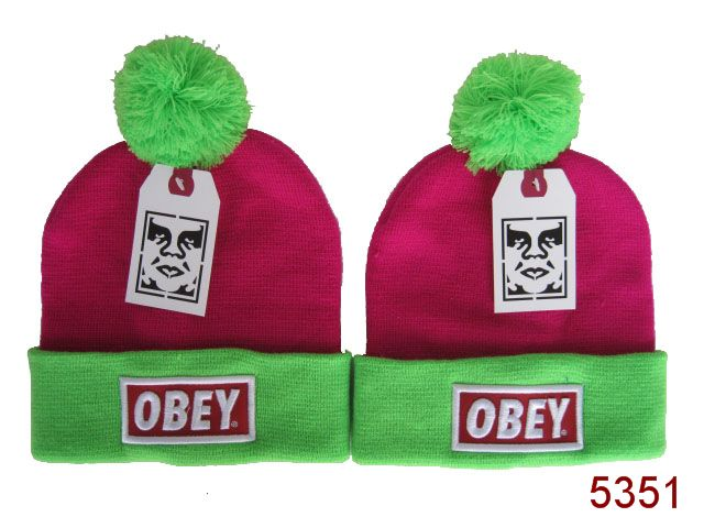 Obey Beanie Pink 1 SG