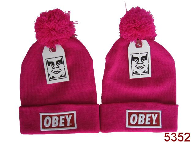 Obey Beanie Pink 2 SG