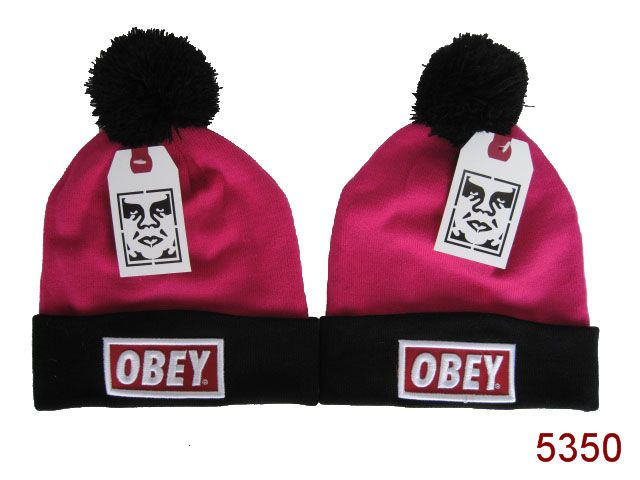 Obey Beanie Pink SG