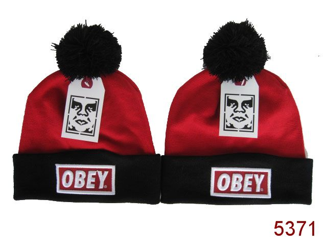 Obey Beanie Red 2 SG