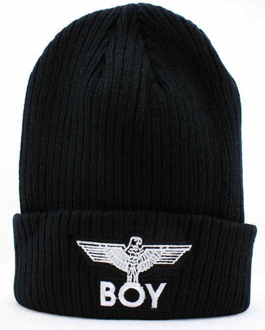 BOY Thicken Black Beanie JT