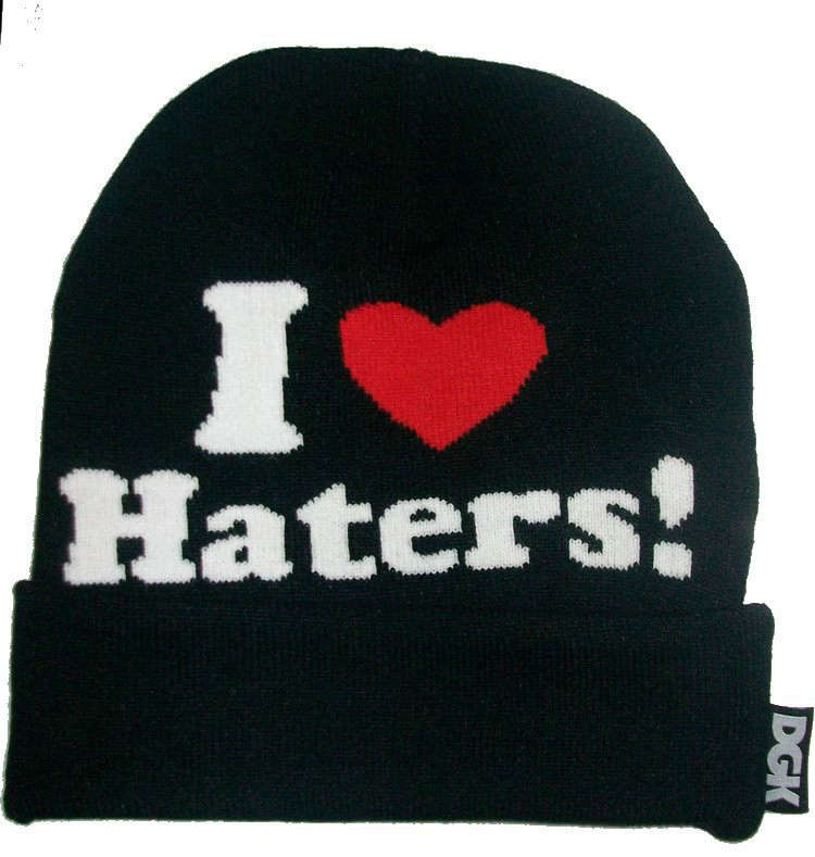 DGK I Love Haters Beanie Black JT