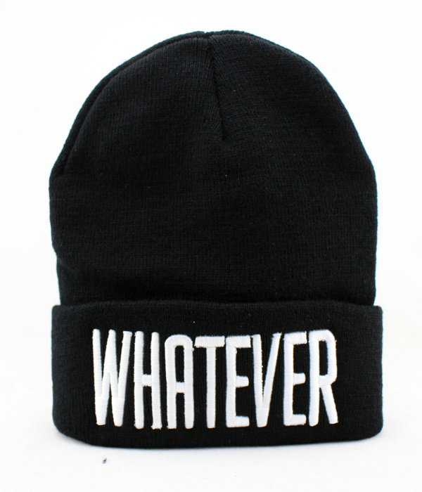 KILLSTAR WHATEVER Black Beanie JT