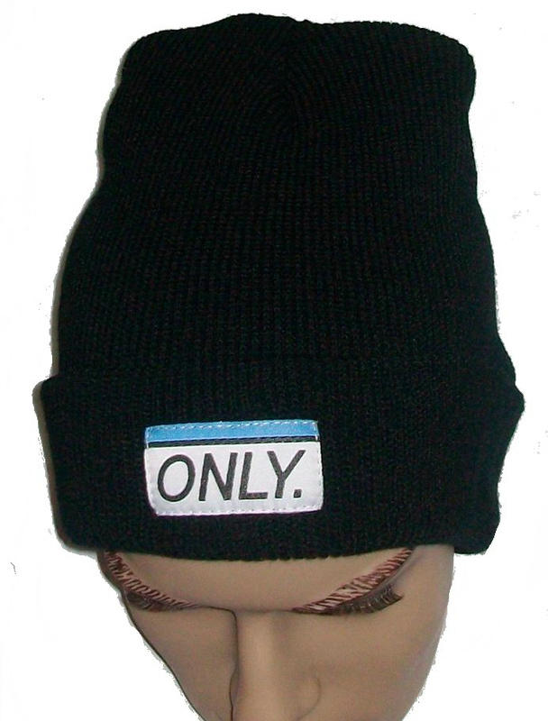 ONLY Black Beanie Black JT