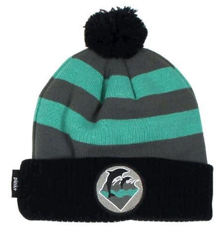Pink Dolphin Waves Stripe Beanie JT