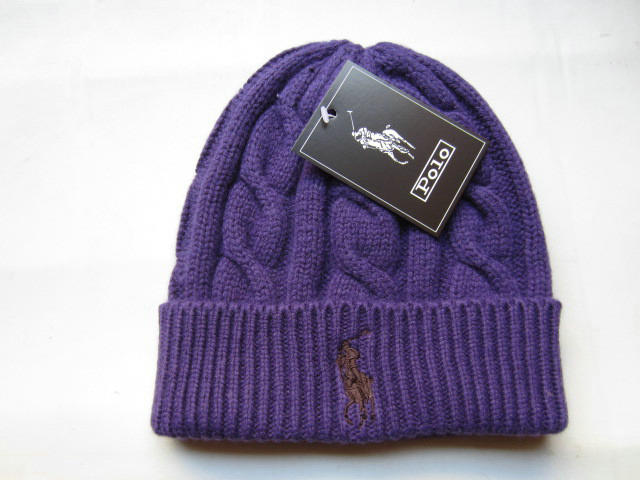 Polo Purple Beanie 1 LX