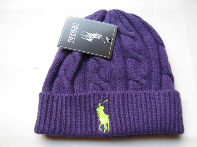 Polo Purple Beanie 3 LX