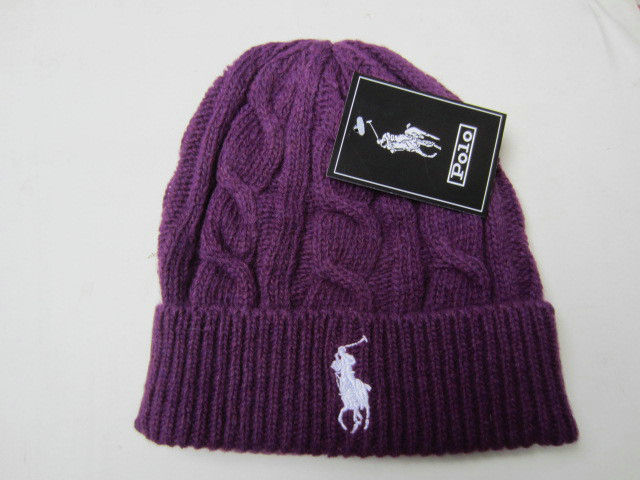 Polo Purple Beanie LX