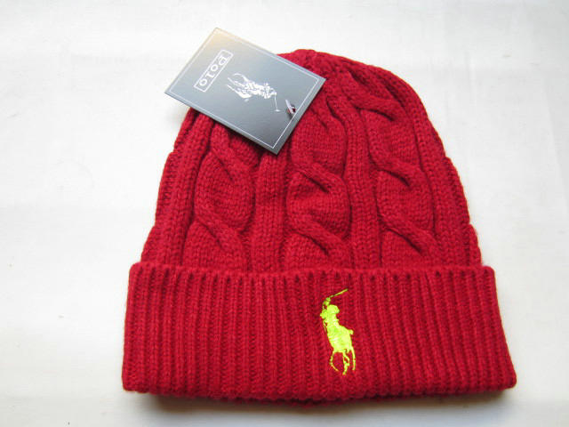 Polo Red Beanie 4 LX